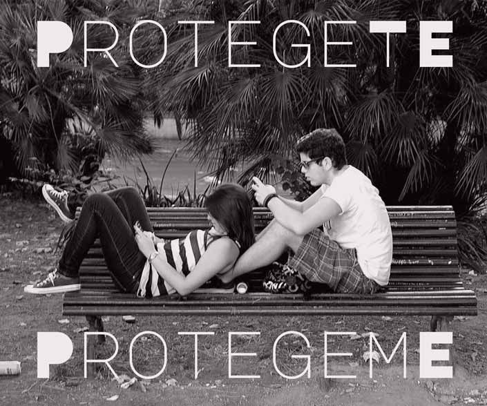 Imagen de la campaña ProtegerTE es protegeME